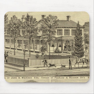 Residence of John A Warden Sewickley Mouse Pad