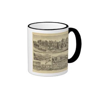 Residence of John A Warden Sewickley Ringer Coffee Mug
