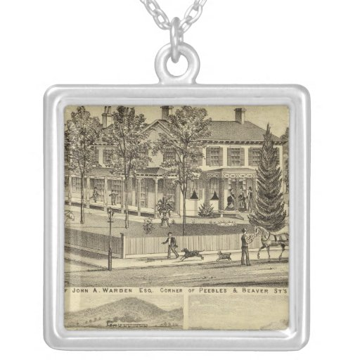Residence of John A Warden Sewickley Necklace