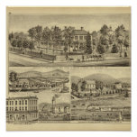 Residence of John A Warden Sewickley Print