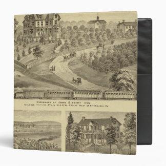 Residence of John Biggert, Idlewood Station 3 Ring Binders