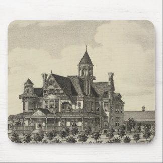 Residence of John D Knox, Topeka, Kansas Mouse Pad