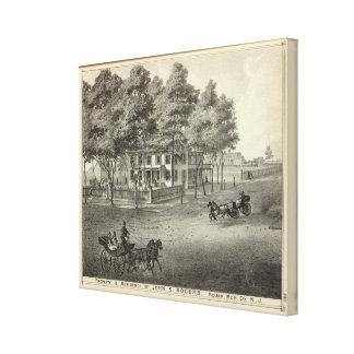 Residence of John S Rogers in Manasquan, NJ Canvas Print