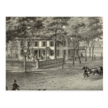 Residence of John S Rogers in Manasquan, NJ Postcard