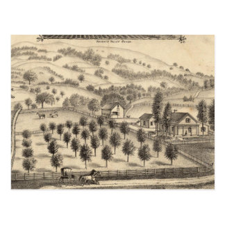 Residence of Joseph Alexander, Mendocino Postcards