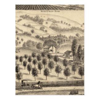 Residence of Joseph Alexander, Mendocino Post Card
