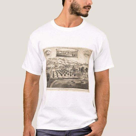 Residence of Joseph Alexander, Mendocino T-Shirt