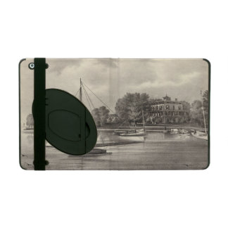Residence of Joseph Francis, Tom's River, NJ iPad Case