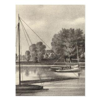 Residence of Joseph Francis, Tom's River, NJ Postcard