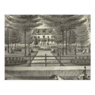 Residence of JP Cooper, Rumson New Jersey Postcard