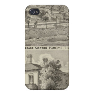 Residence of Judge Horace Corbin iPhone 4 Covers