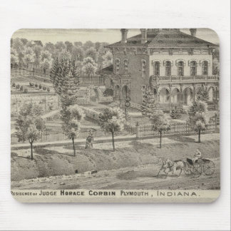 Residence of Judge Horace Corbin Mouse Pad