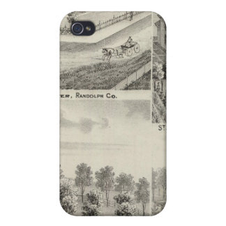 Residence of Milton Thornburgh Fayette Co iPhone 4/4S Cover