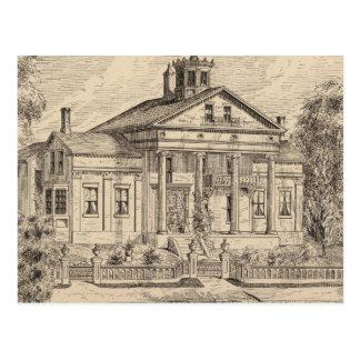 Residence of Mrs EE Marsh, Brandon in Vermont Postcard