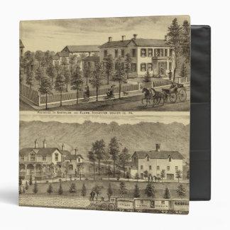 Residence of Steffler and Clark, Rochester 3 Ring Binder