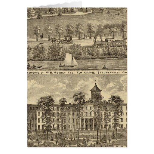 Residence of WH Mooney Cards