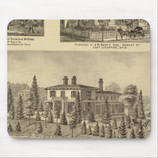 Residence of William Reed , Sewickley Mouse Pad