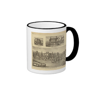Residence of William Reed , Sewickley Ringer Coffee Mug