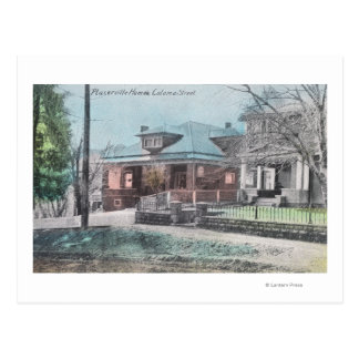 Residence Scene on Coloma Street Postcard