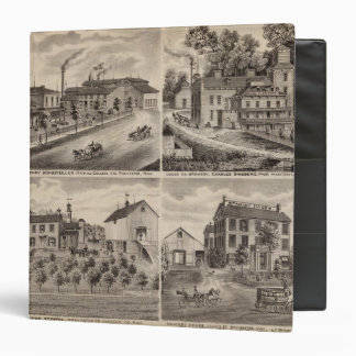Residences and Breweries in Rochester, Minnesota 3 Ring Binder