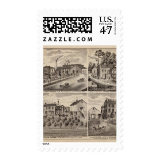 Residences and Breweries in Rochester, Minnesota Postage