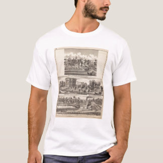 Residences and buildings in Poplar Grove T-Shirt