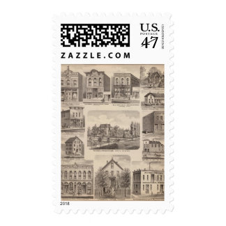 Residences and Businesses in Austin, Minnesota Postage
