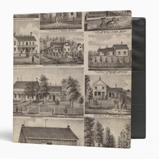 Residences and Farm Buildings, Owatonna, Minnesota 3 Ring Binder