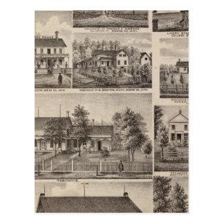 Residences and Farm Buildings, Owatonna, Minnesota Postcard