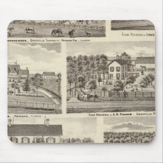 Residences and farm residences in Putnam Co 2 Mouse Pad