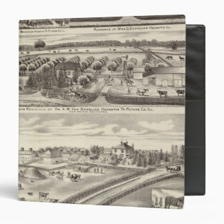 Residences and farm residences in Putnam Co 3 Ring Binder
