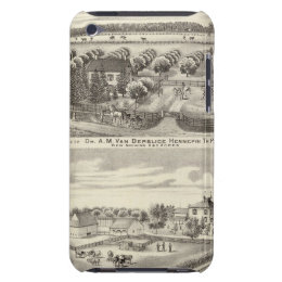 Residences and farm residences in Putnam Co Case-Mate iPod Touch Case