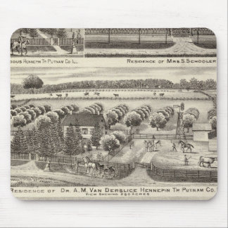 Residences and farm residences in Putnam Co Mouse Pad