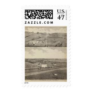 Residences and Farms of Eldridge, Minnesota Postage Stamp