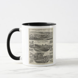 Residences and Farms, Pottawatomie County, Kansas Mug