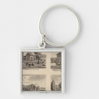 Residences and store in Polk County Key Chain