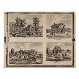 Residences and store in Polk County Print