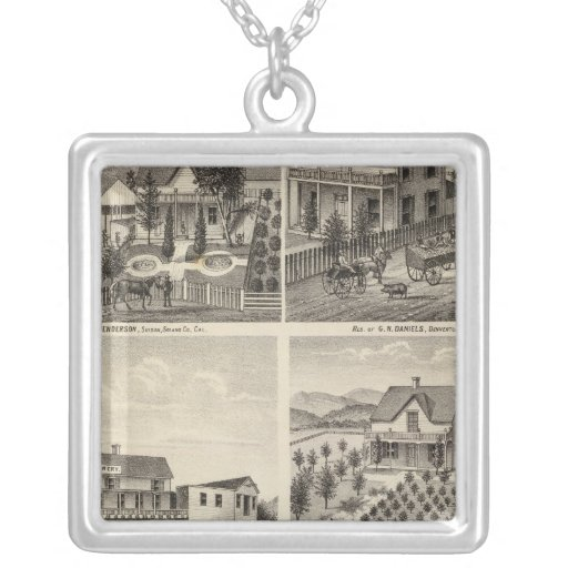 Residences, Brewery, ranch Necklaces