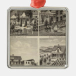 Residences, Brewery, ranch Ornaments