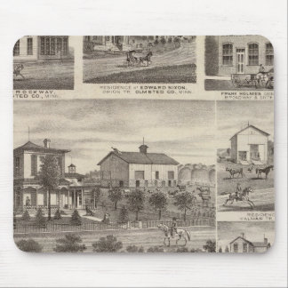Residences, businesses, and Town of Eyota Mouse Pad
