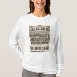 Residences, farm, businesses in W Liberty, Ackley T-Shirt