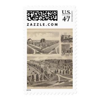 Residences, Farm, Minnesota Postage Stamp