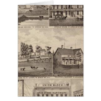 Residences, Farms and Businesses, Minnesota Card