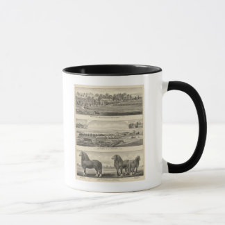 Residences, Farms, and Horses of Kansas Mug