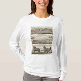 Residences, Farms, and Horses of Kansas T-Shirt