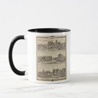 Residences, farms in Polk Mug
