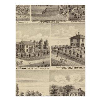 Residences farms in Polk Post Cards