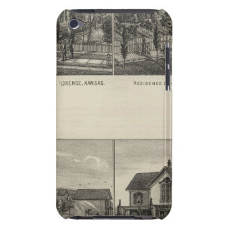 Residences, Florence, and Hillsboro, Kansas Barely There iPod Case