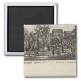 Residences, Florence, and Hillsboro, Kansas Magnet