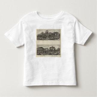 Residences, Florence, and Hillsboro, Kansas Toddler T-shirt